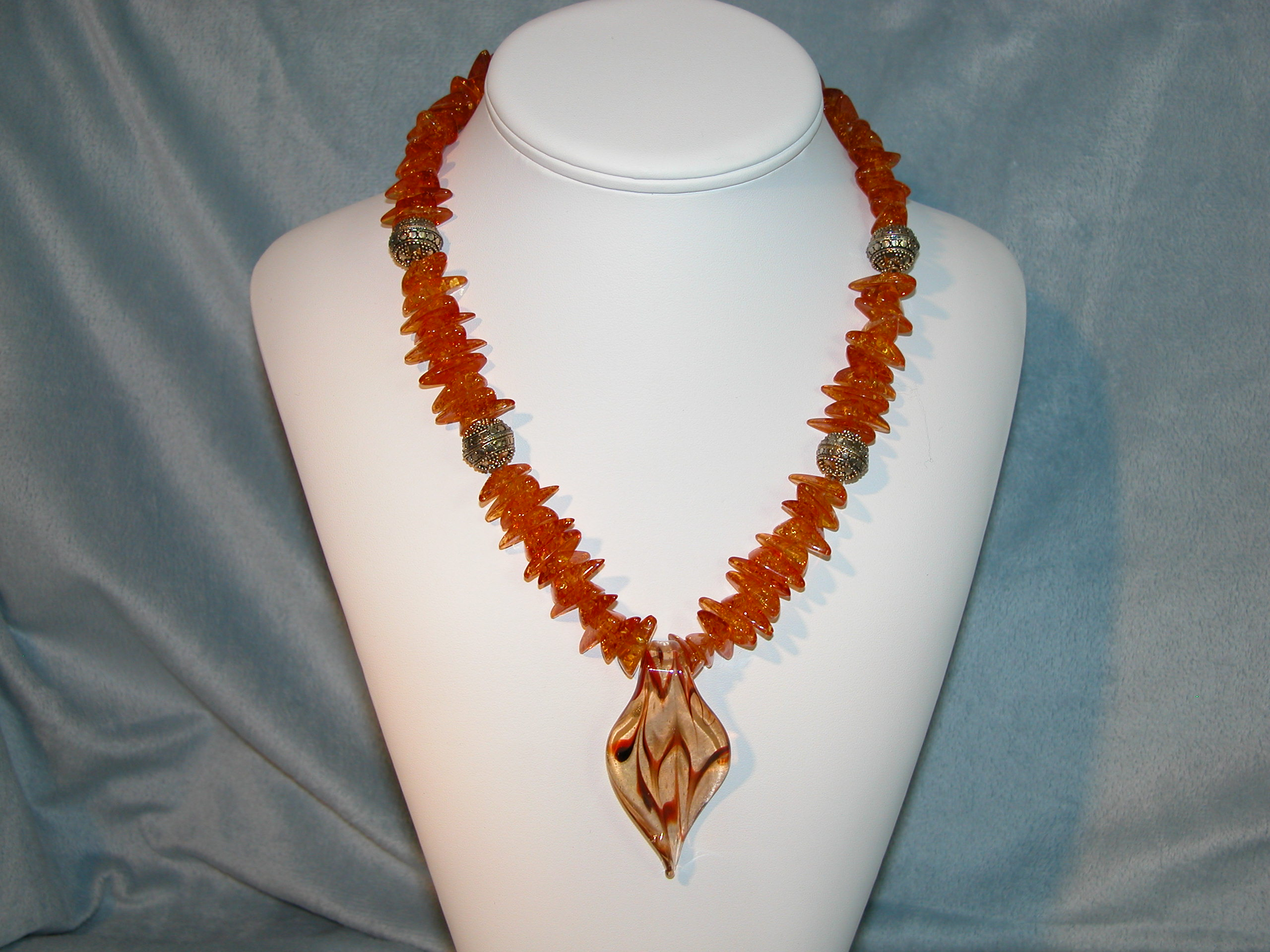 Amber Delight Collection - Necklace