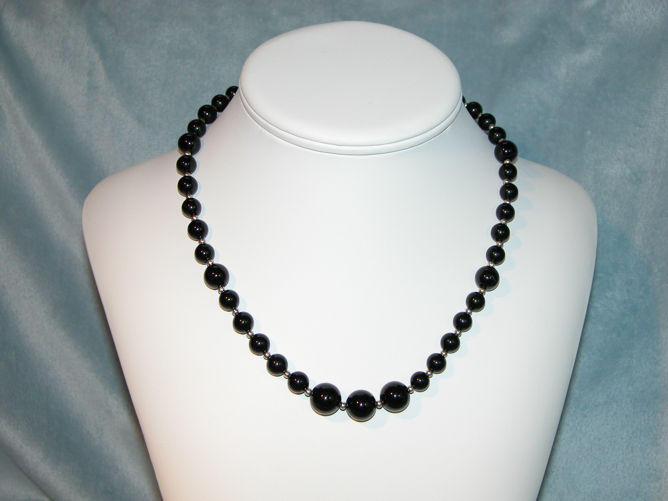 Black  White Collection - Necklace